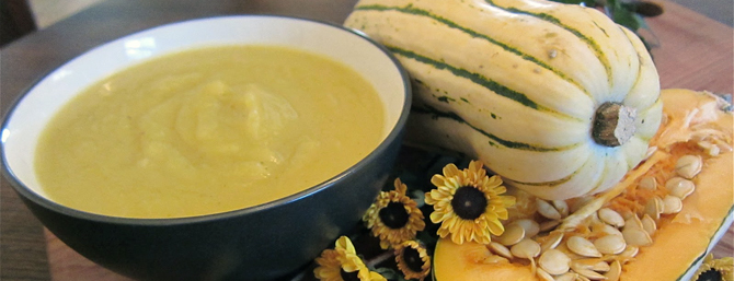 Sweet Potato Squash Soup