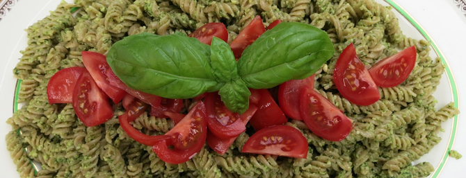 Basil & Cashew Pesto Recipe